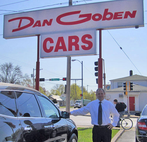 Dan Goben Owner of Dan Goben Used Car Dealership in Green Bay, WI